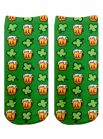 Irish Beer Ankle Socks
