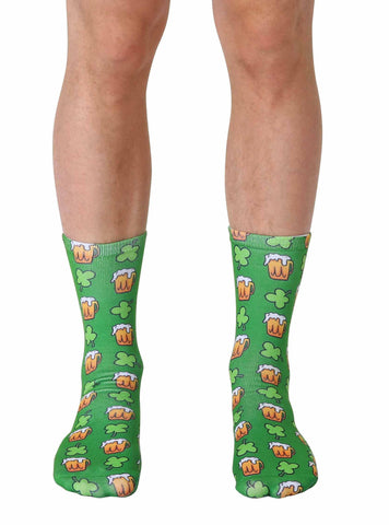 Irish Beer Crew Socks