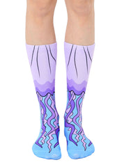 Jellyfish Crew Socks