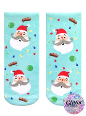 Jolly St. Nick Ankle Socks