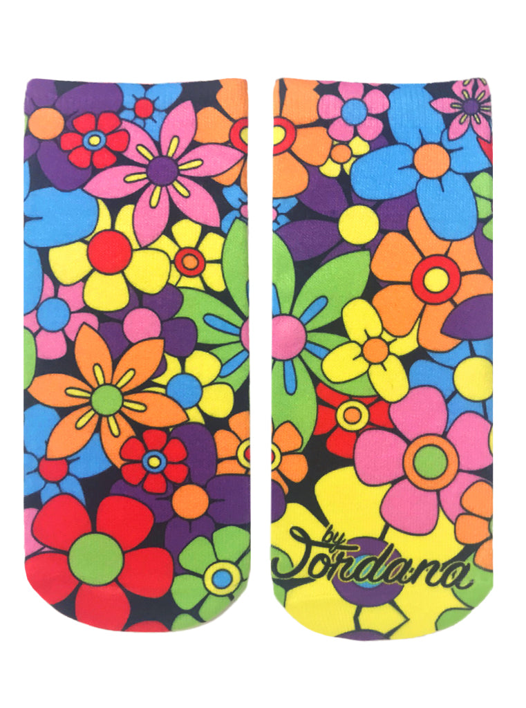 Flower Power Ankle Socks