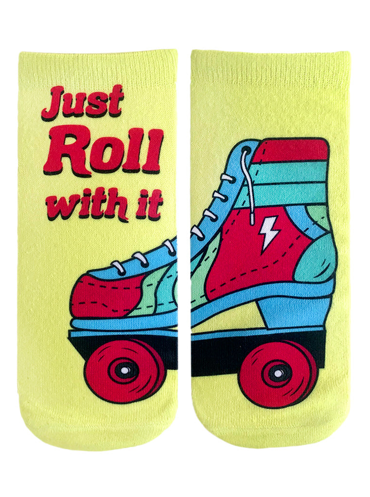 Just Roll With It Ankle Socks