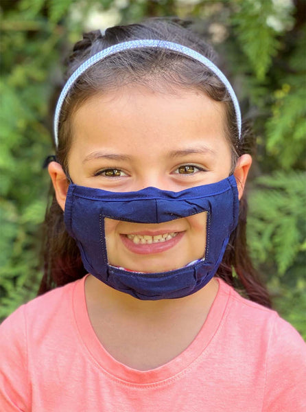 Kids Smile Mask - Reversible!