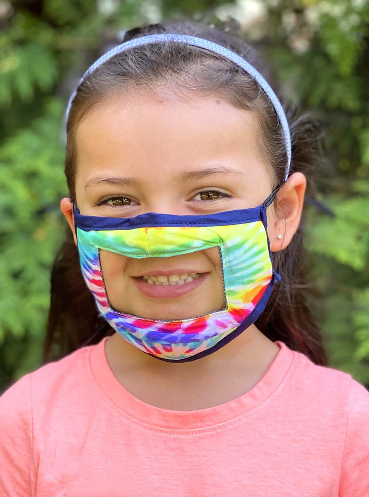 Kids Smile Mask - Reversible - x10