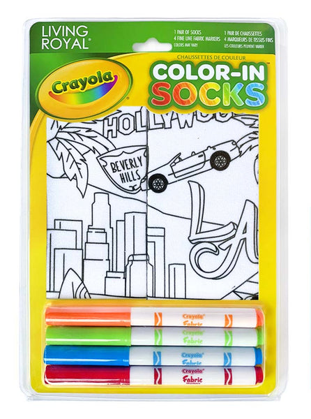 Color-In Socks LA Dreaming