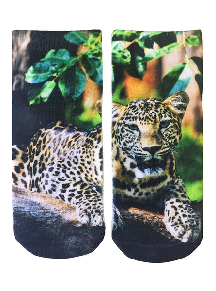 Leopard Ankle Socks