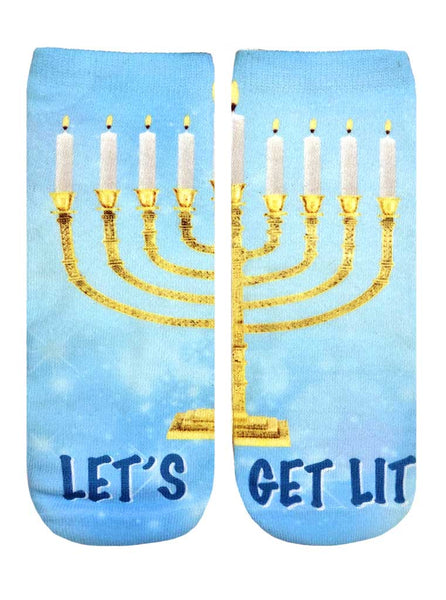 Menorah Ankle Socks