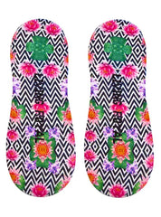 Lotus Flower Liner Socks