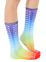 Love Is Love Crew Socks