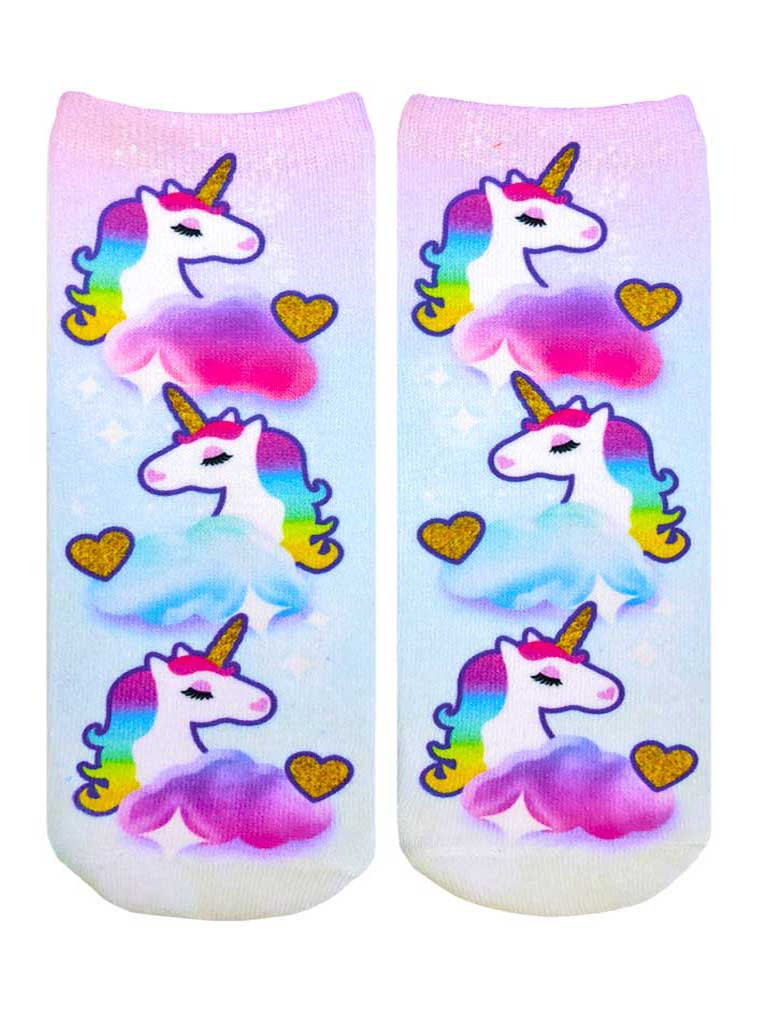 Magical Unicorn Ankle Socks