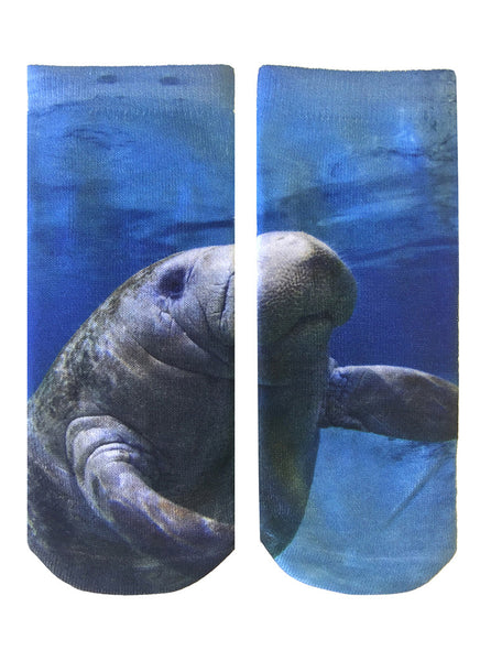 Manatee Ankle Socks