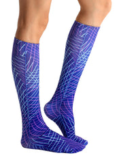 Matrix Knee High Socks