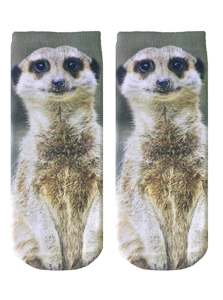 Meerkat Ankle Socks
