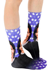 Michelle Obama Crew Socks