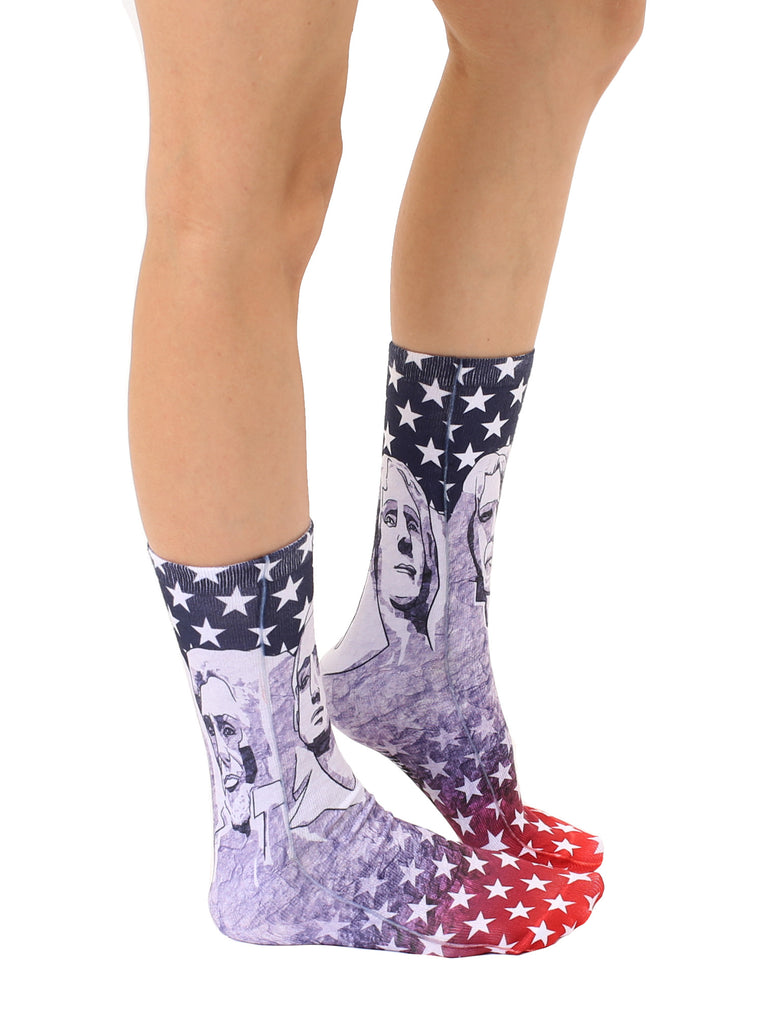 Mt. Rushmore Crew Socks