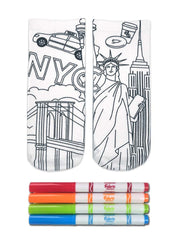 Color-In Socks NY State Of Mind
