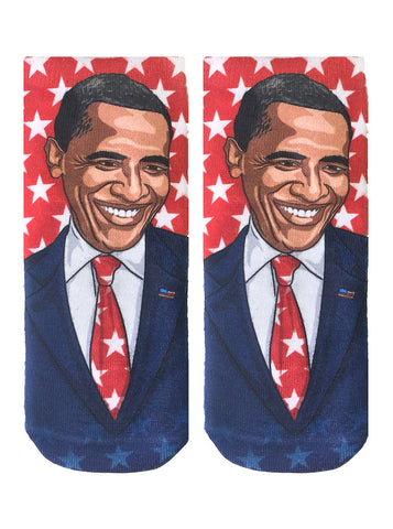 Obama Ankle Socks
