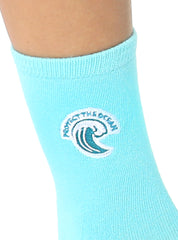 Protect The Ocean Mid Crew Socks