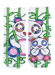 Color-In Socks Happy Panda