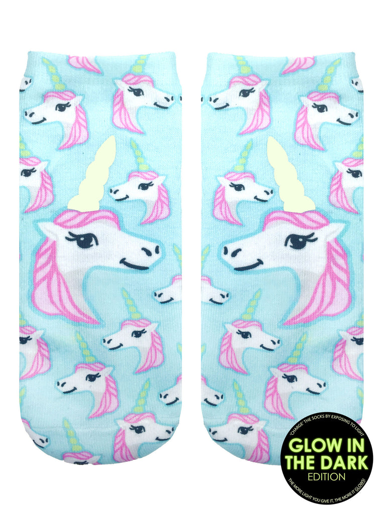 Pastel Unicorn Ankle Socks