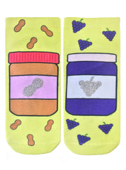 PB and J Ankle Socks
