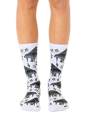 Piano Crew Socks