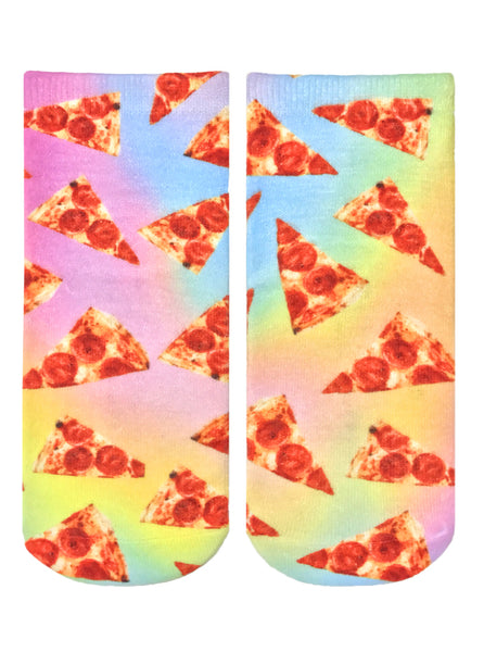 Pizza Slices Ankle Socks