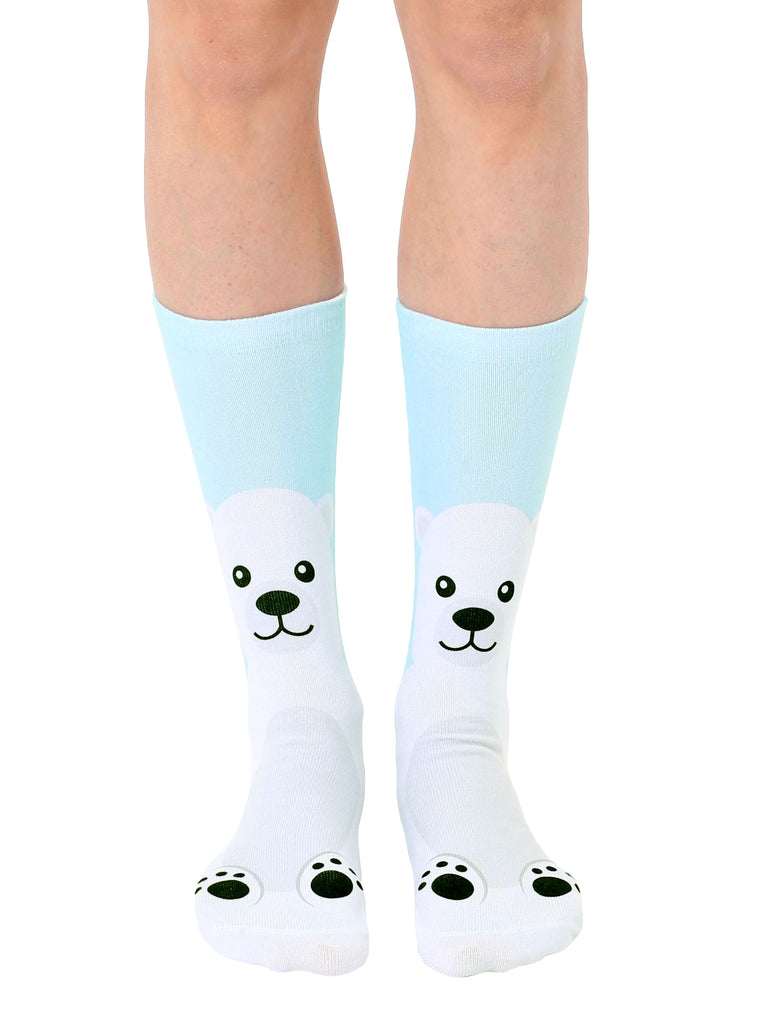 Polar Bear Crew Socks