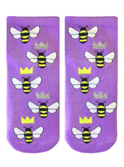 Queen Bee Ankle Socks