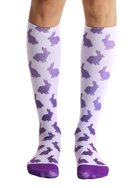 Rabbit Knee High Socks
