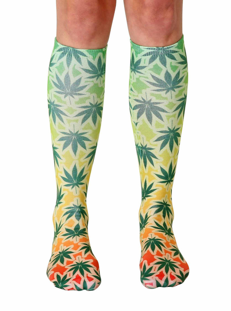 Rasta Mon Knee High Socks