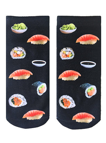 Raw Sushi Ankle Socks