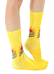 Ray Of Sunshine Crew Socks