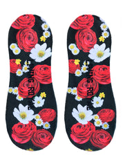 Rosey Dreams Liner Socks