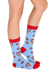 Scented Santa Chocolate Socks