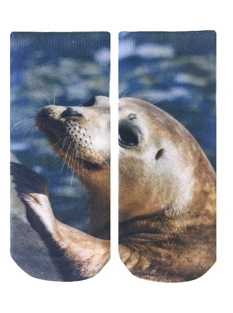 Seal Ankle Socks