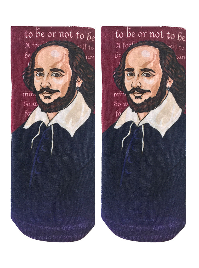 Shakespeare Ankle Socks