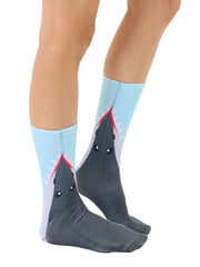 Shark Bite Crew Socks