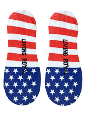 Stars and Stripes Liner Socks