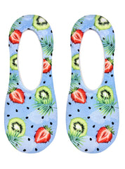 Strawberry Kiwi Liner Socks
