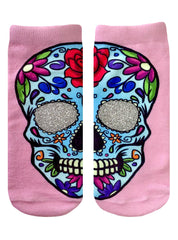 Sugar Skull Ankle Socks