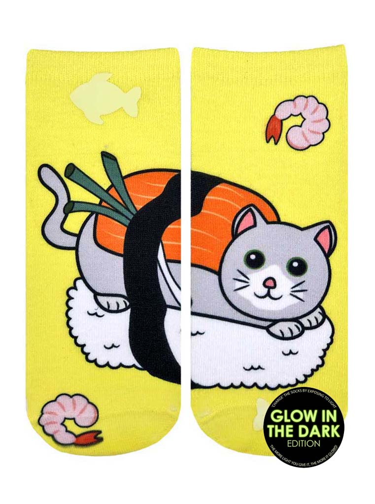 Sushi Cat Ankle Socks