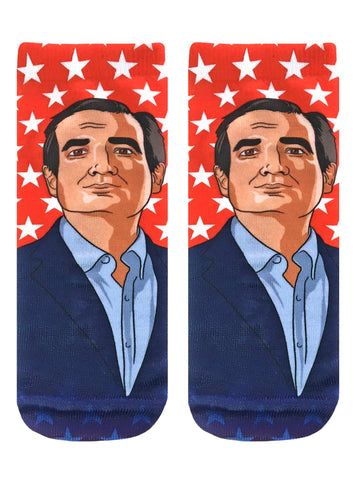 Ted Cruz Ankle Socks