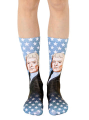 Thomas Jefferson Crew Socks