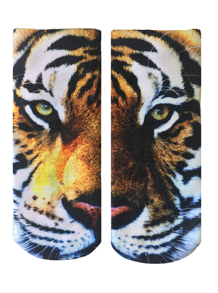 Tiger Ankle Socks