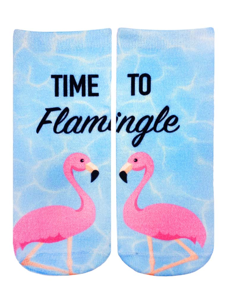 Flamingle Ankle Socks