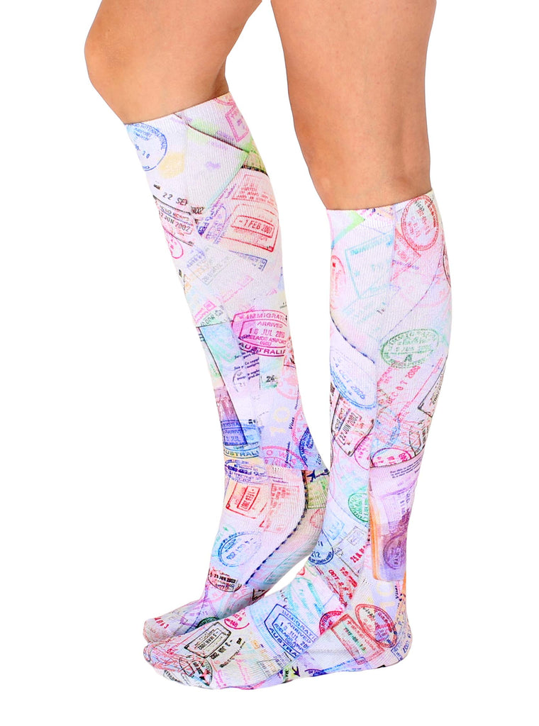 Travel Knee High Socks