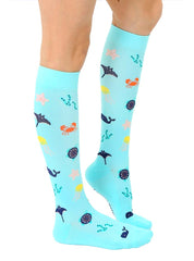 Under The Sea Compression Socks