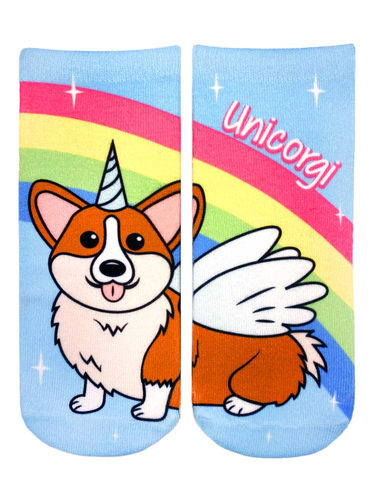 Unicorgi Ankle Socks
