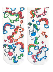 Color-In Socks Unicorn Fun